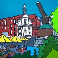 Blick vom Stint Kunstbild von Barrie Short