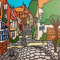 Lüneburg Altstadt 2019 - Kunst von Barrie Short