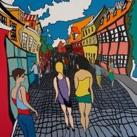 Lüneburg Altstadt -Barrie Short Kunst