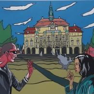 Rathaus in Lüneburg 2017 - Barrie Short Kunst