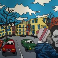 Hanseviertel in Lüneburg 2017 - Barrie Short Kunst